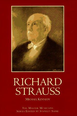 Richard Strauss: A Master Musicians Biography (Master Musicians (Schirmer)) PDF
