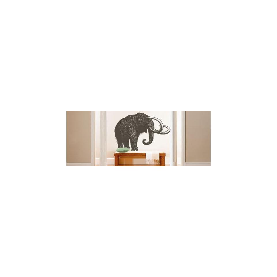 Vinyl Wall Art Decal Sticker Wolly Mammoth