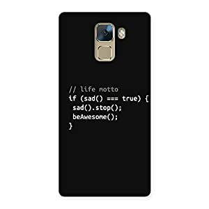 Cute Programer Life Back Case Cover for Huawei Honor 7