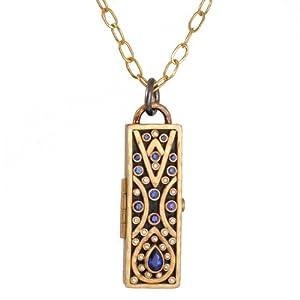 ANNIE FENSTERSTOCK- Marrakesh Locket Necklace