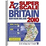 Great Britain Super Scale Road Atlas (A-Z Road Atlas)by Geographers' A-Z Map...