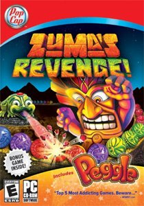 Zuma's Revenge with Peggle Bonus