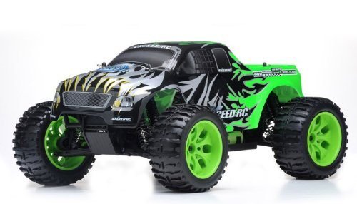 1/10 2.4Ghz Exceed Rc Electric Infinitive Ep Rtr Off Road Truck Fire (Sava Green)