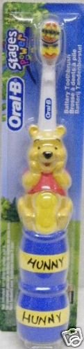 ORAL-B STAGES POWER Kids toothbrush - WINNIE THE POOH