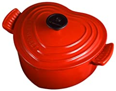 Le Creuset ココット・ダムール (単品) チェリーレッド