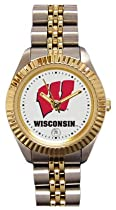 Wisconsin Badgers- (University of) Ladies Executive Stainless Steel Sports Watch