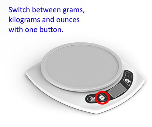 Digital Kitchen Scale Weigh Food In Grams And Ounces 15