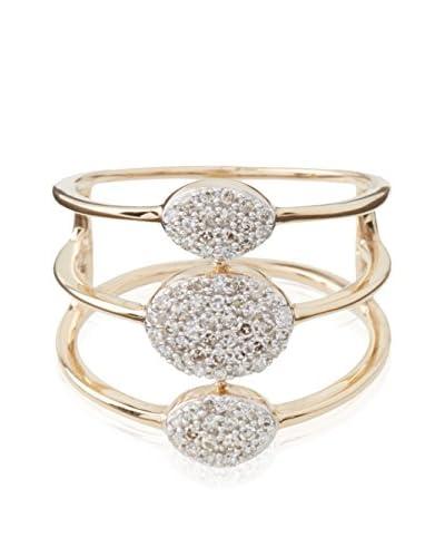 PARIS VENDÔME Anello Trio Scintillants Diamants [Oro Giallo]