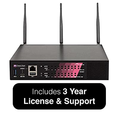 Check Point 1470 Security Appliance Bundle with Threat Prevention Security Suite, Wired - Includes 24x7 Support for 3 Years