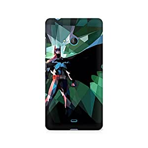 Mobicture Batman Abstract Scream Premium Printed Case For Nokia Lumia 540