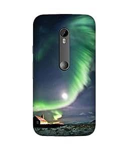 Norway Lights Motorola Moto X3 Case