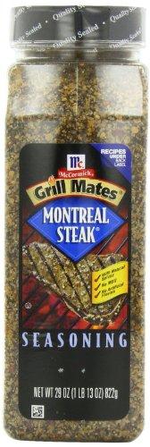 McCormick Grill Mates Montreal Steak Seasoning, 29 ounce