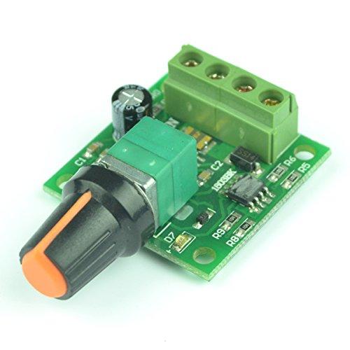 Generic Low Voltage Dc 1.8v 3v 5v 6v 12v 2a Motor Speed Controller Pwm (Pwm Motor Speed Controller compare prices)