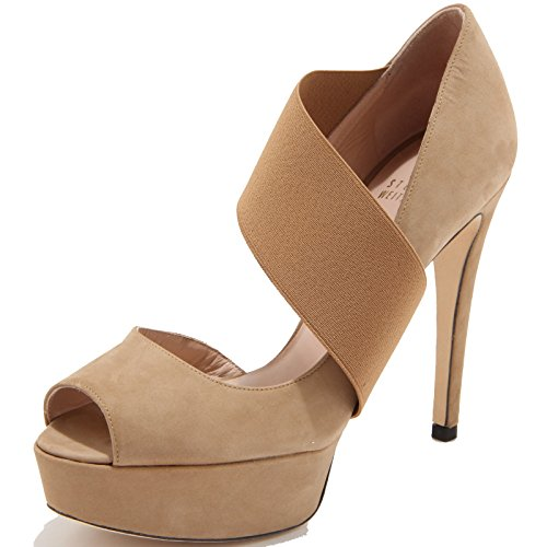 86134 decollete spuntato STUART WEITZMAN STRETCHY scarpa donna shoes women [35.5]