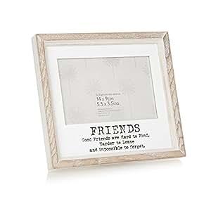 Debenhams Wedding Gift List Delivery : Debenhams Wooden Friends 5.5 3.5 Inch Photo Frame 7645184 ...