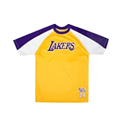 Los Angeles Lakers Kobe Bryant Youth Shooter T-Shirt (Gold) by Majestic