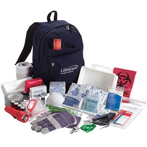Grab-And-Go 1-Person 3-Day Complete Emergency Kit (80100)