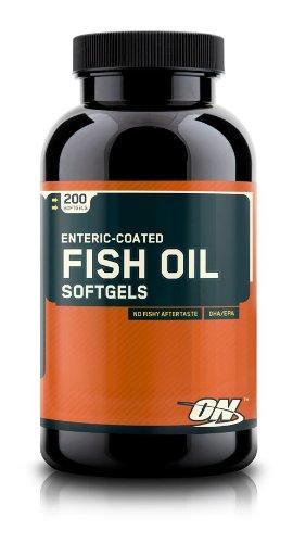 Optimum Enteric Coated Fish Oil 200 Softgels