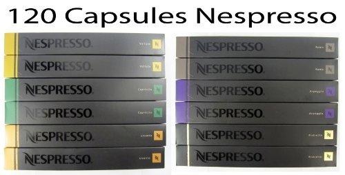 120 Nespresso Capsules Mixed 9