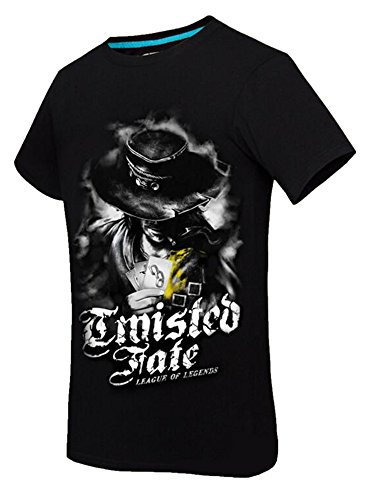2016 Men's Twisted Fate New LOL T-Shirt Short Sleeved Cotton Mat