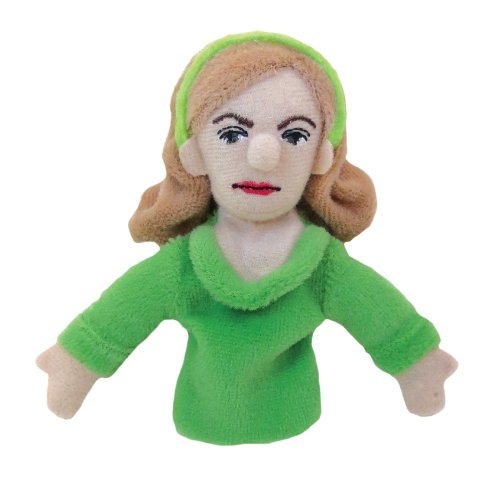 Sylvia Plath Finger Puppet and Refrigerator Magnet - By The Unemployed Philosophers Guild