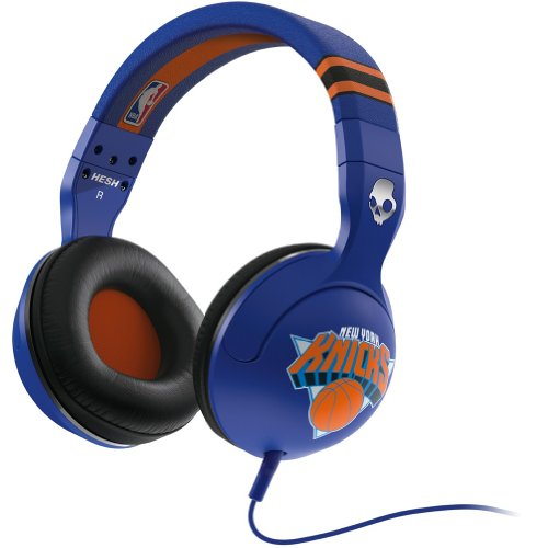 Click to buy Skullcandy NBA Hesh 2.0 Knicks with Mic Sports Collection Wired Headphone - Blue / One Size - From only $149.99
