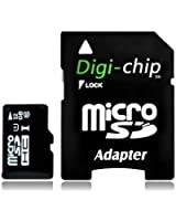 Digi-Chip 32 GO CLASS 10 UHS-1 MICRO-SD CARTE MÉMOIRE POUR SAMSUNG GALAXY S4, S IV, Mini, Zoom, GALAXY J, Win Pro G3812, S Duos 2 S7582, Grand 2, I9230 Galaxy Golden, Galaxy Express 2, Samsung I9506 Galaxy S4, Round G910S, Core Plus, Galaxy Fresh S7390, I9500, I9502, CDMA, Young S6310, Galaxy Young Duos S6312, Samsung GT-S6310L