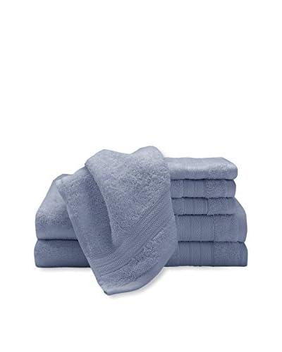 Luxury Home 6-Piece Super Plush Egyptian Cotton Towel Set, Delft