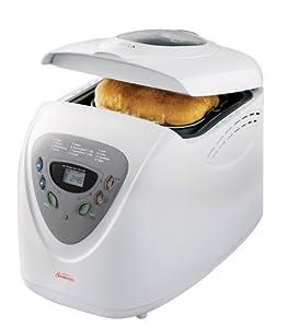 Sunbeam 2-Pounds Breadmaker, White