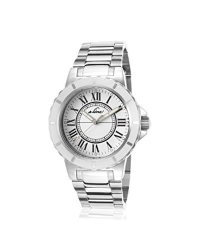 a_line Women's AL-20013 Marina Silver/White Stainless Steel Watch