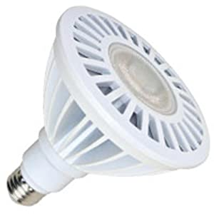 Dimmable LED PAR38 - 90W Equal - 16 Watt - 1850 Candlepower - 40 Deg. Flood - 4000K Cool White - Halco 80044