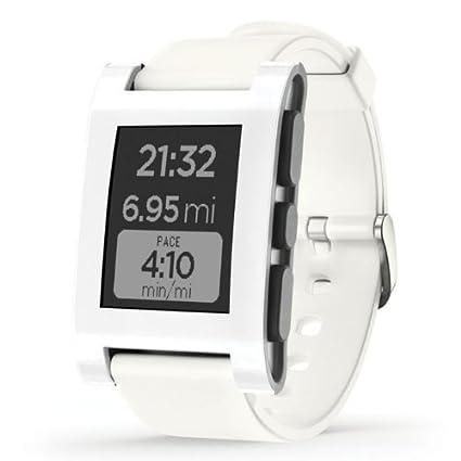 Pebble montre Smart Watch - Blanc