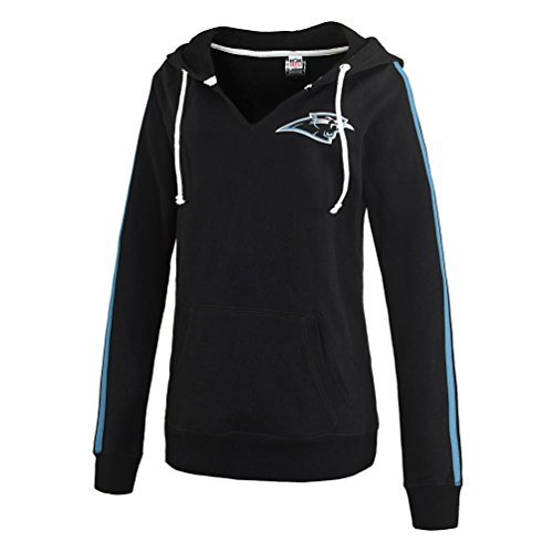 Women's NFL Carolina Panthers V-neck Hoodie Medium