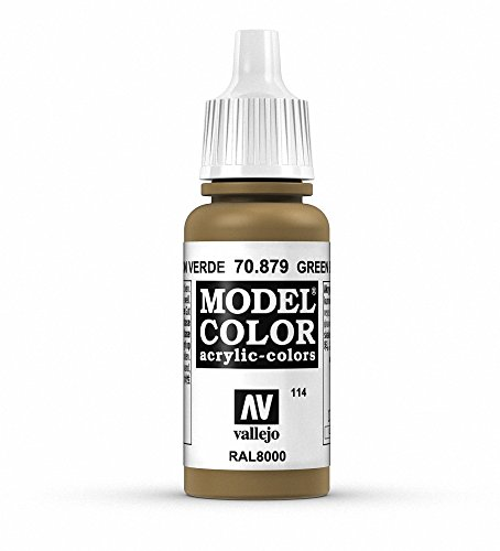 Vallejo Green Brown Model Color Paint, 17ml