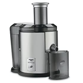 Waring Professional JEX450 Pulp-Eject Juice Extractor, Brushed Stainless