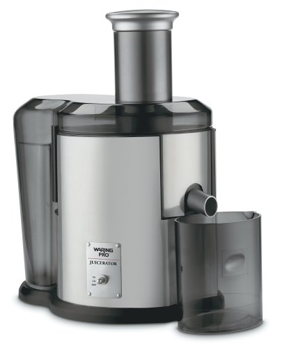Waring Jex450 Pulp-Eject Juice Extractor, Brushed Stainless