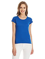 Deal Jeans Women's Body Blouse Top (20444_Royal Blue_Large)