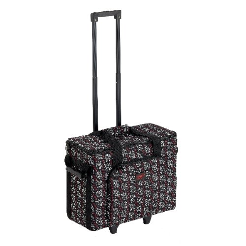 Creative Notions Sewing Machine Trolley In As Ye Sew Print front-639887