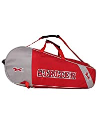 Striter Double Tennis Racquet Kit bag RED