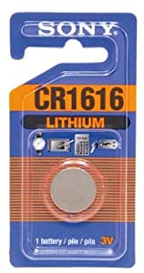 Sony CR1616 Lithium Coin Battery