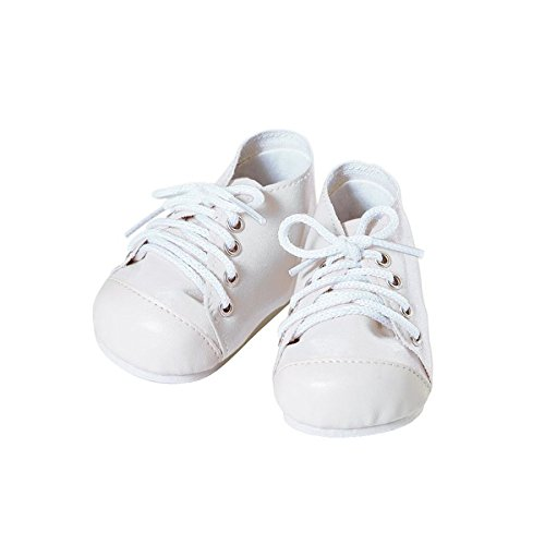 Adora Baby Doll Shoe, White/White