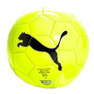 Puma FluoCat Mini Training Soccer Ball, Yellow, 1