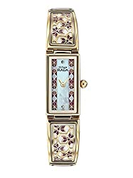 Titan Raga Analog Multi-color Dial Womens Watch - NC9901YM01J