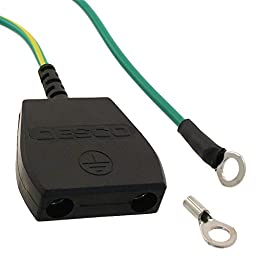 Anti-Static Control Products W/O Resistor 10mm Stud 15\' Cord