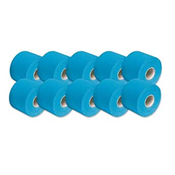 "3B Scientific Blue Cotton Rayon Fiber Kinesiology Tape, 16' Length x 2"" Width (Case of 10 Rolls)"