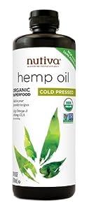 Nutiva Organic Hemp Oil, 24-Ounce Bottle