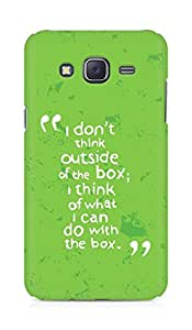 AMEZ i dont think out of the box Back Cover For Samsung Galaxy J5
