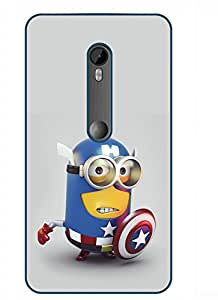 Happoz Designer Cute Cartoon Disney Hard Back Case for Motorola Moto G Turbo D120