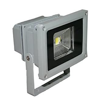 10 Watt Outdoor LED Flood Light 12v- Ac/dc Also in 120v Warm White
