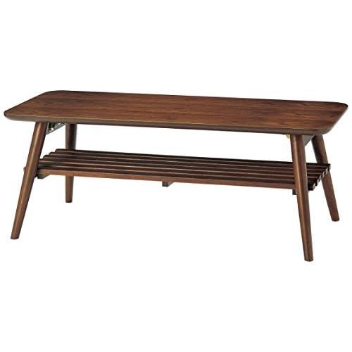 テーブル SLANセンターテーブル SLA-1045-WT W1000×D450×H380